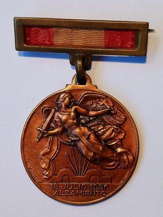 Medalla Alzamiento y Victoria Guerra Civil
