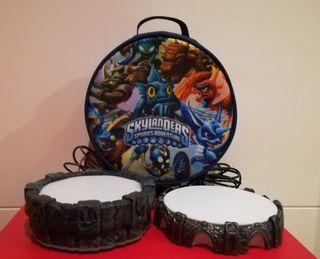 Skylander dos portales y bolsa para PS3