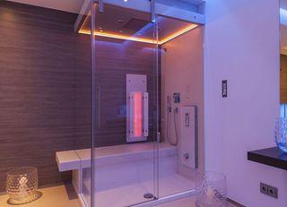 Instalación duchas de vapor y saunas