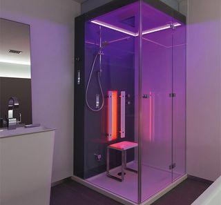 Instalación ducha cabina de vapor