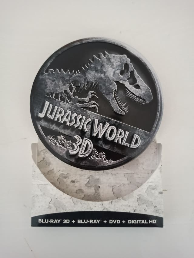Jurassic World edición lata coleccionista