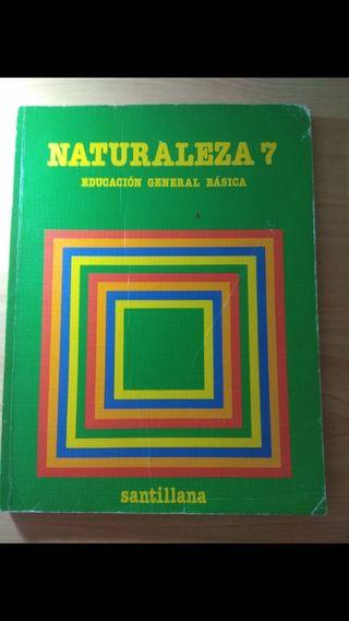 Libro texto 7 EGB Naturaleza