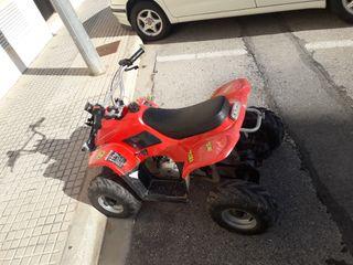 quad a gasolina infantil