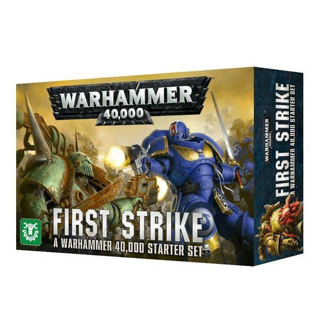 WARHAMMER. FIRST STRIKE.