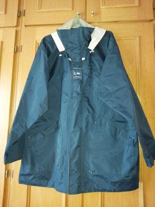chaqueta cortaviento impermeable talla xxl
