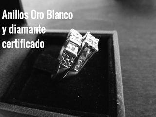 Anillos Oro Blanco y diamante con certificados (2)