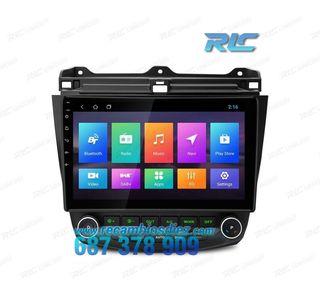"""NAVEGADOR GPS HONDA ACCORD ANDROID 8.1 LCD 10,1"""" T"""