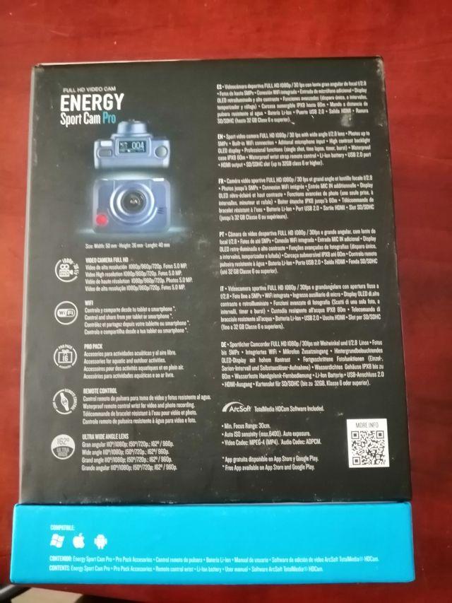 Camara Energy Sistem Sport Cam Pro NUEVA