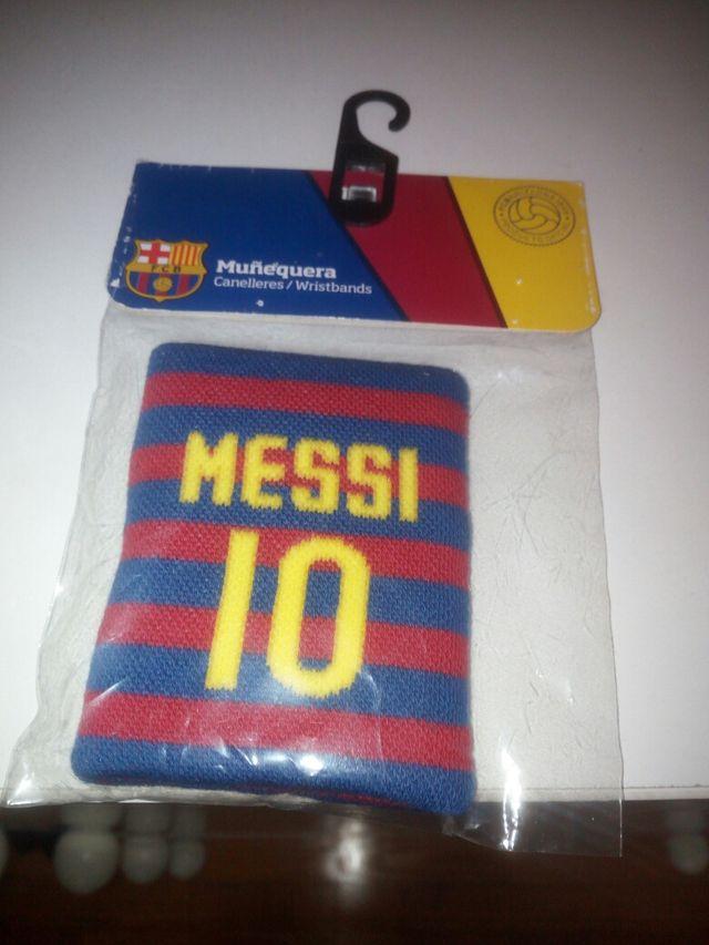 Muñequera FCB Messi Oficial