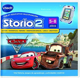 Cartucho de Cars 2 para Storio 2.