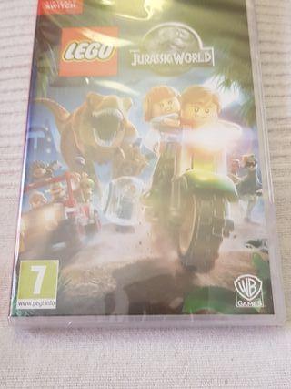Juego nintendo switch. Lego Jurassic World.
