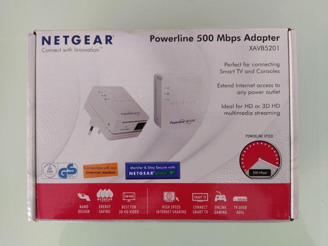 Adaptador PLC NETGEAR Powerline 500 Mbps