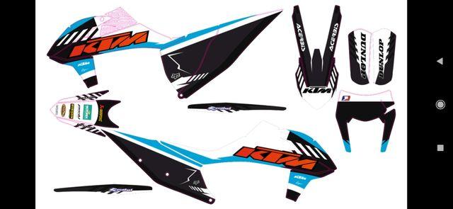 kit pegatinas básico KTM 2020