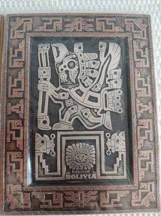 cuadros de dioses inkas