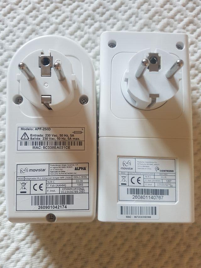 Adaptador PLC Ethernet APF-250D