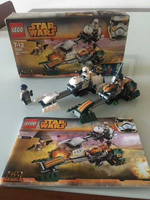 Lego 75090 Ezras Speeder Bike de Star Wars