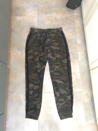 pantalon chandal militar