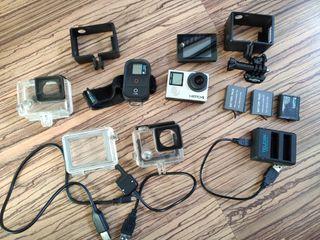 GoPro Hero 4 black + LCD