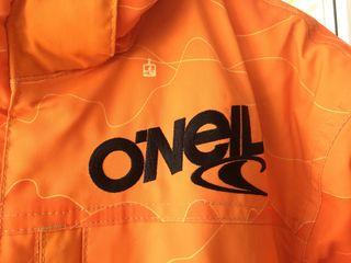 Ropa esqui nieve O'Neill. Mimetizado naranja