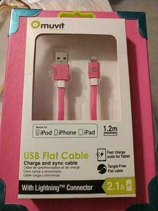 cable usb iPod, iPhone y ipad