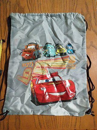 saco infantil Mcqueen
