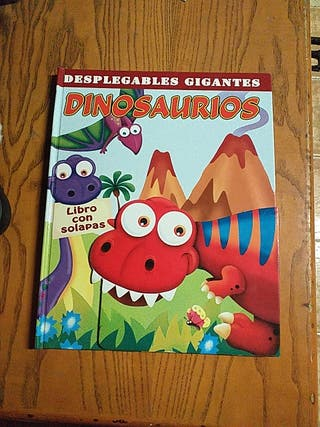 desplegables gigantes dinosaurios