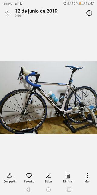 se vende bicicleta carrera carbono.