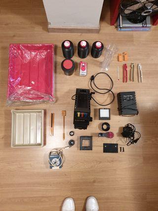 Ampliadora Durst M370 color+laboratorio analógico