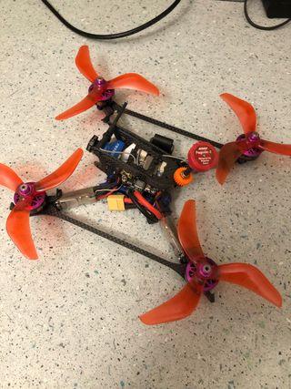 Dron carreras fpv