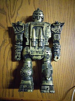 muñeco robot articulado