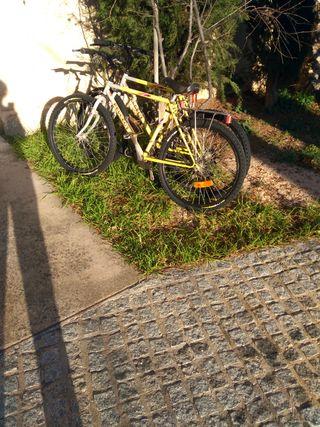 2 bicicletas de montaña marca PEUGEOT