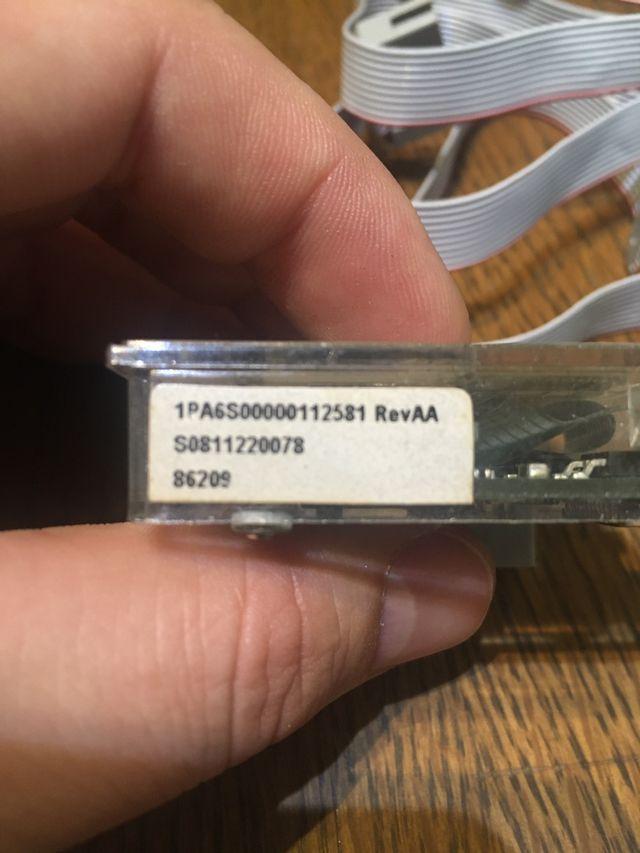 Pantalla de programación de cintas transportadoras
