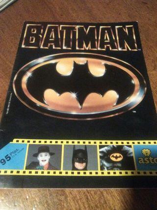 album de cromos COMPLETO batman