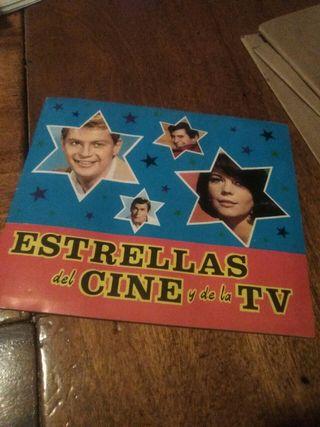 album de cromos antiguo COMPLETO estrellas de cine