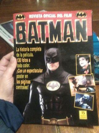 revista oficial pelicula batman