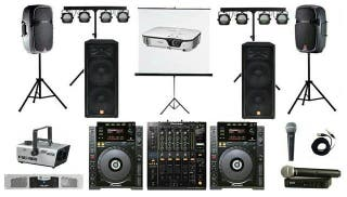 alquileres de equipos de sonido e iluminación