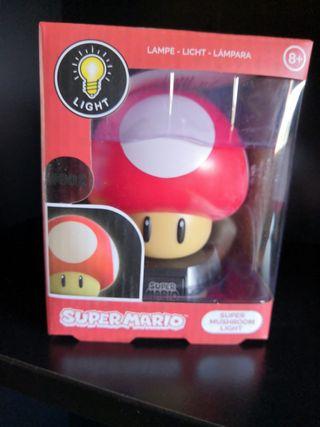 Lámpara Súper Mario