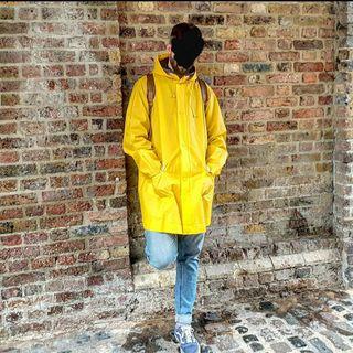 vintage pvc rain coat
