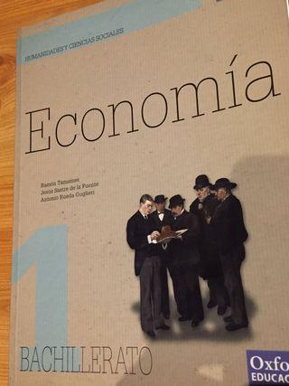 Libro de economía 1º Bachillerato