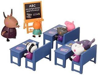 Maletín Peppa Pig + colegio