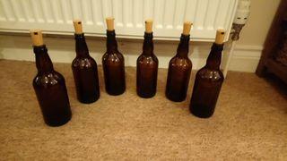 cork batteries led cider bottles