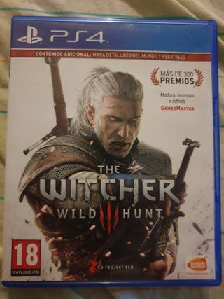 The Witcher 3 wild hunt. playstation 4