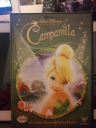 DVD película campanilla