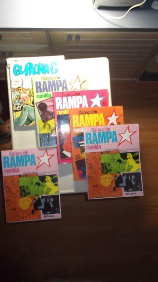 LOTE 6 COMICS ADULTOS RAMPA RAMBLA Y EL PACHA G