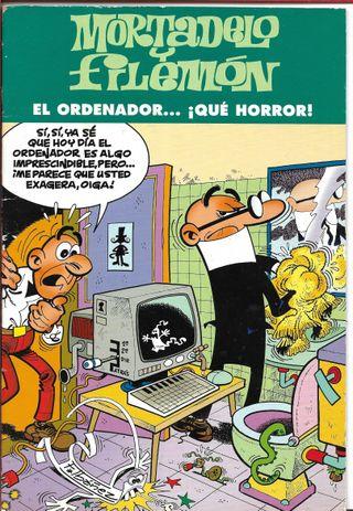 MORTADELO Y FILEMÓN....¡EL ORDENADOR ..QUE HORROR