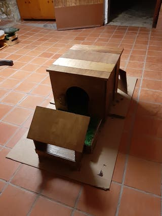 fabrico caseta de perro