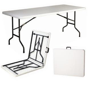 6ft Heavy Duty Folding Table 1,8m