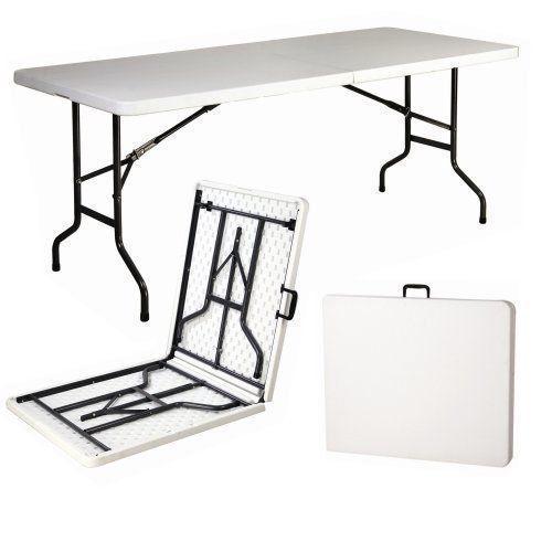 6ft Heavy Duty Folding Table 1,8m