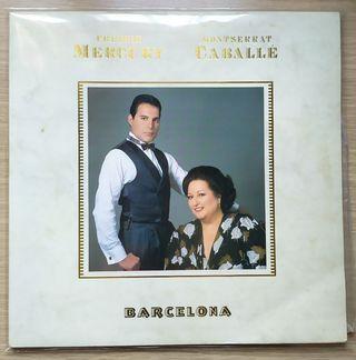 Disco de Vinilo Freddie Mercury UK Barcelona