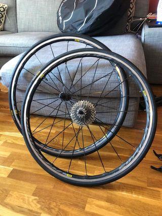 Mavic ruedas Ksyrium Pro UST Elite tube/tubeless